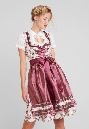 NAKOMA - Dirndl - beige/rosenholz