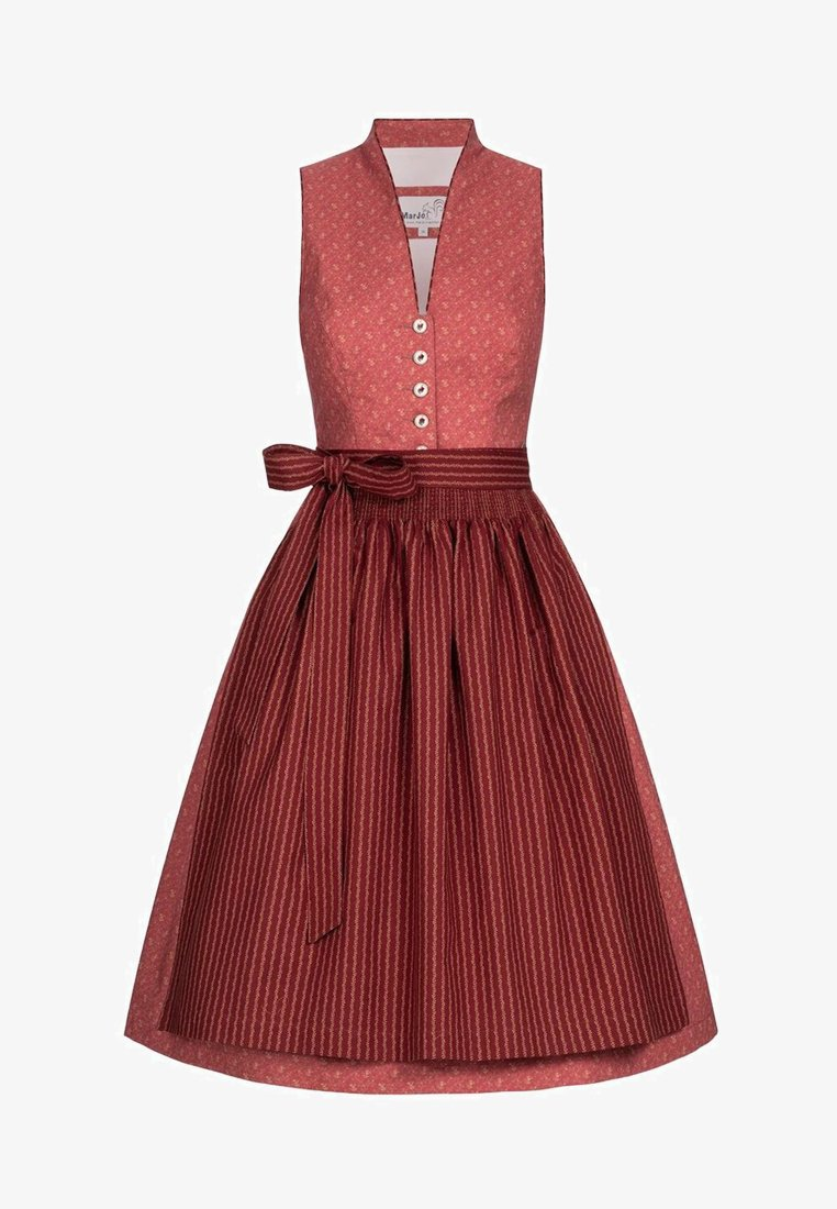 Marjo - FRIDONELLA  - Dirndl - red