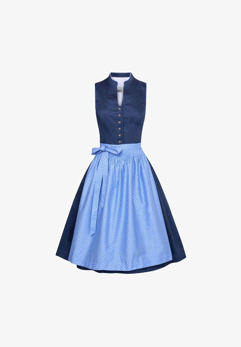 Marjo - HELENE - Dirndl - blue
