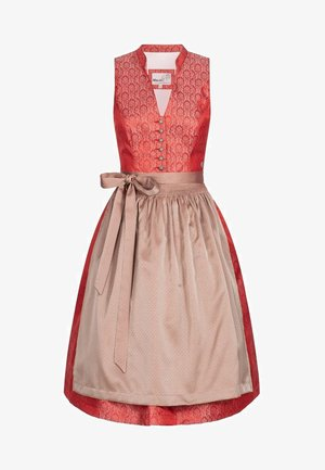 GEUDA - Dirndl - red