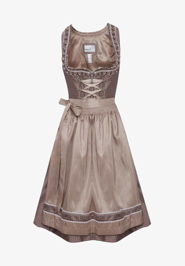 Dirndl - light brown