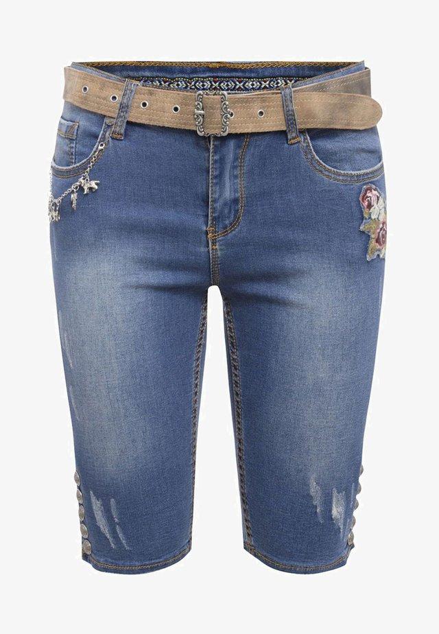 BAHATI LISA  - Denim shorts - blue