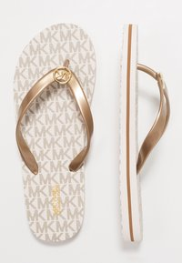 MICHAEL Michael Kors - STRIPE EVA - T-bar sandals - vanilla - 3