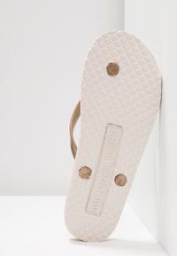 MICHAEL Michael Kors - STRIPE EVA - T-bar sandals - vanilla - 6
