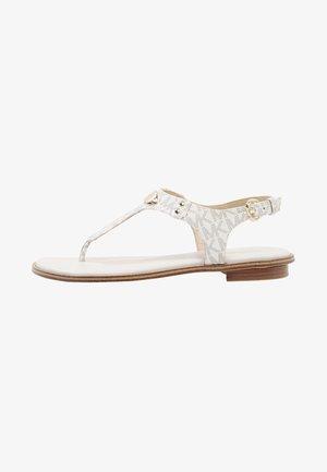 PLATE THONG - Sandály s odděleným palcem - vanilla