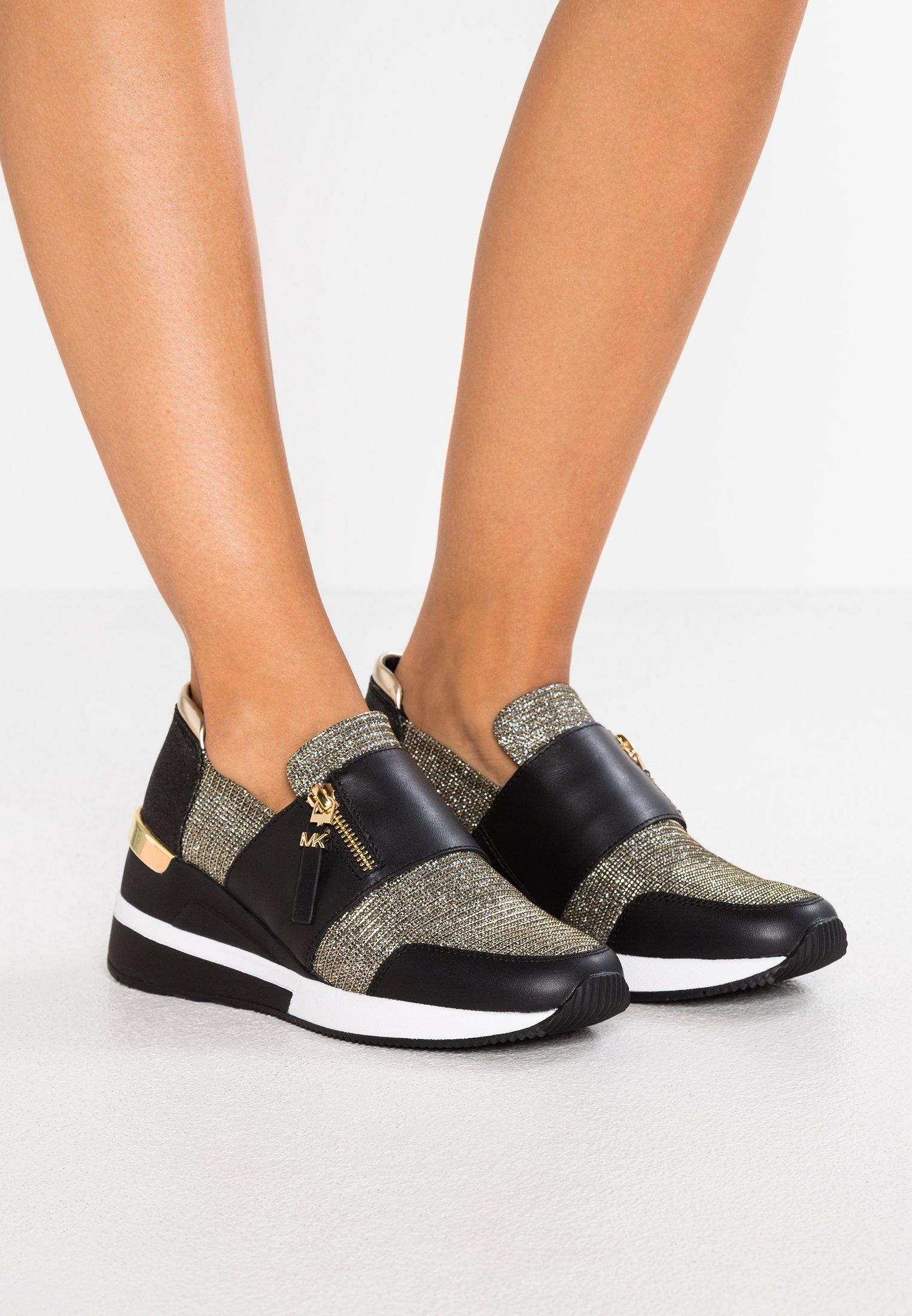 CHELSIE TRAINER Sneakers basse blackgold