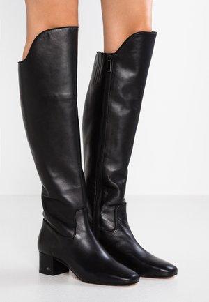 BLAINE BOOT - Kozačky nad kolena - black