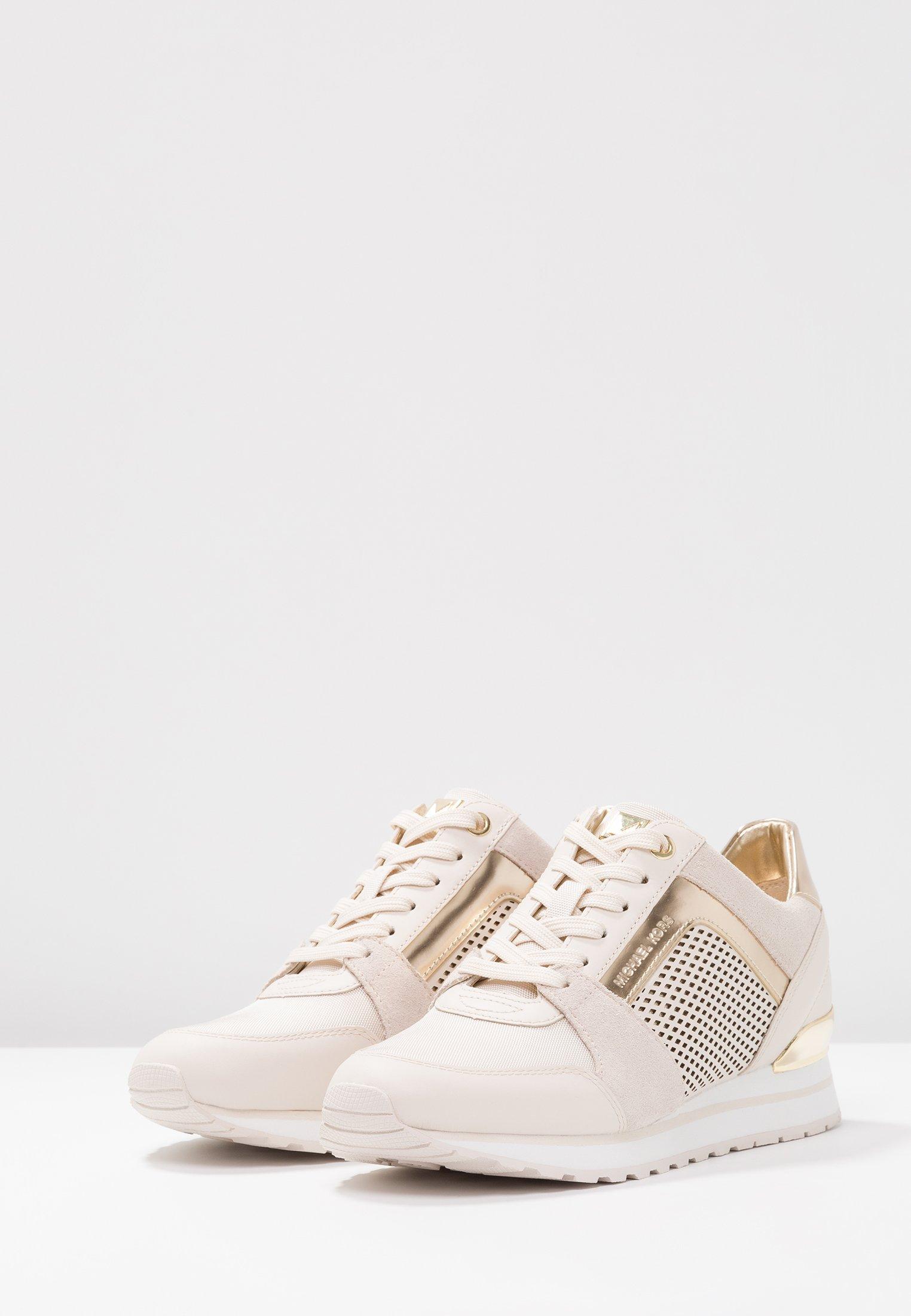 MICHAEL Michael Kors BILLIE TRAINER - Sneakersy niskie - light cream