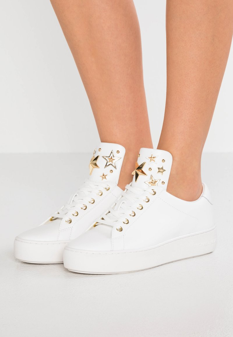 MICHAEL Michael Kors - MINDY LACE UP - Sneakers - optic white