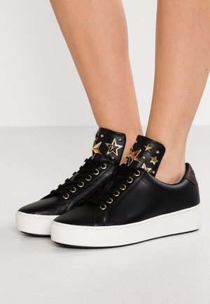 MINDY LACE UP - Sneaker low - black/brown