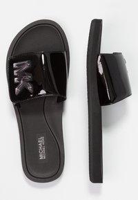 MICHAEL Michael Kors - SLIDE - Pantolette flach - black - 3
