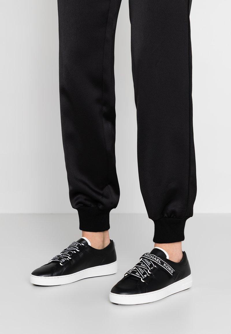 MICHAEL Michael Kors - CASEY - Sneakers basse - black/optic white