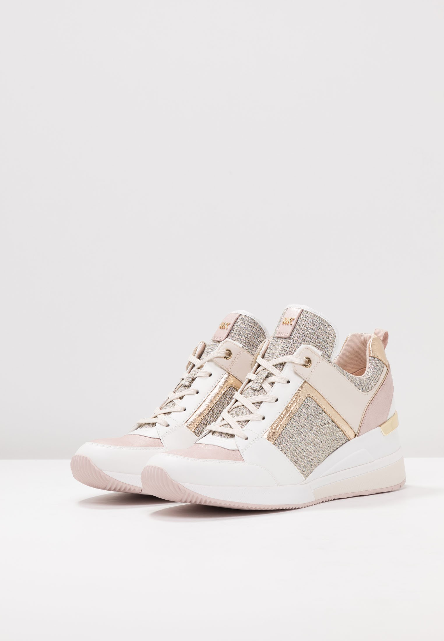 MICHAEL Michael Kors GEORGIE TRAINER - Sneakersy niskie - soft pink/multicolor