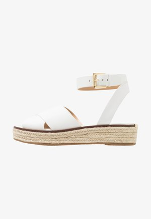 ABBOTT - Espadrilles - optic white