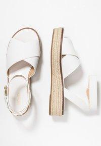 MICHAEL Michael Kors - ABBOTT - Loafers - optic white - 3