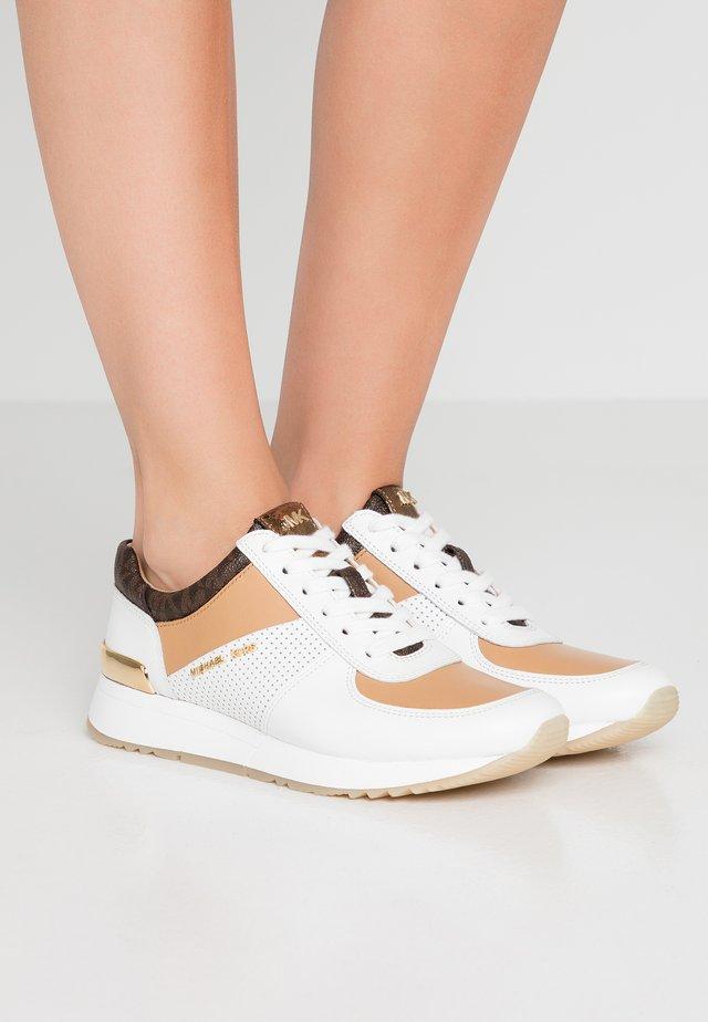 ALLIE TRAINER - Sneakersy niskie - optic white/multicolour