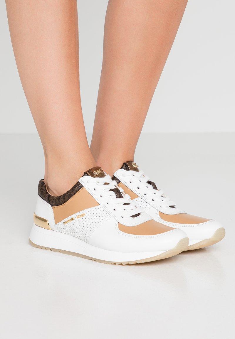 MICHAEL Michael Kors - ALLIE TRAINER - Sneaker low - optic white/multicolour