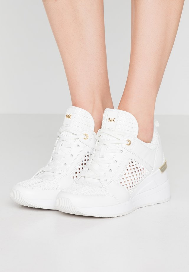 GEORGIE TRAINER - Sneakers - optic white