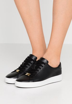 IRVING LACE UP - Matalavartiset tennarit - black