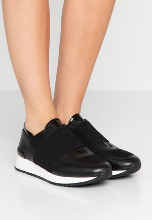 TRAINER - Mocassins - black