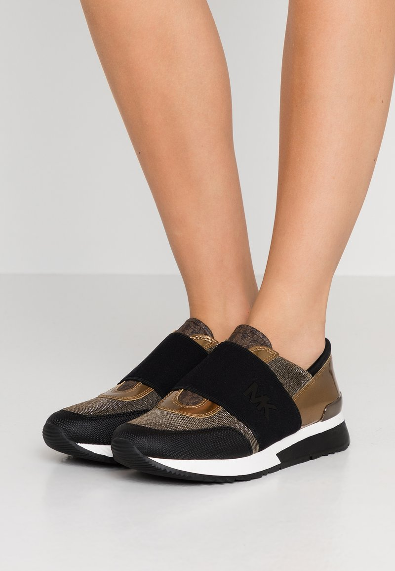 MICHAEL Michael Kors - TRAINER - Slipper - black/bronze