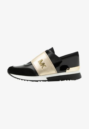 TRAINER - Slip-ons - black/pale gold