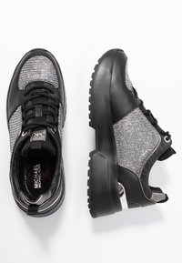 MICHAEL Michael Kors - COSMO TRAINER - Trainers - black/silver - 3