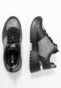 MICHAEL Michael Kors - COSMO TRAINER - Sneakers - black/silver - 3