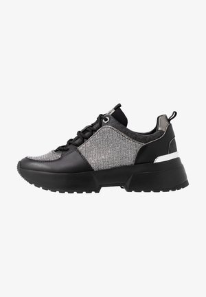 COSMO TRAINER - Baskets basses - black/silver