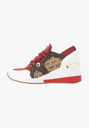LIV TRAINER - Sneakers basse - brandy/multicolor