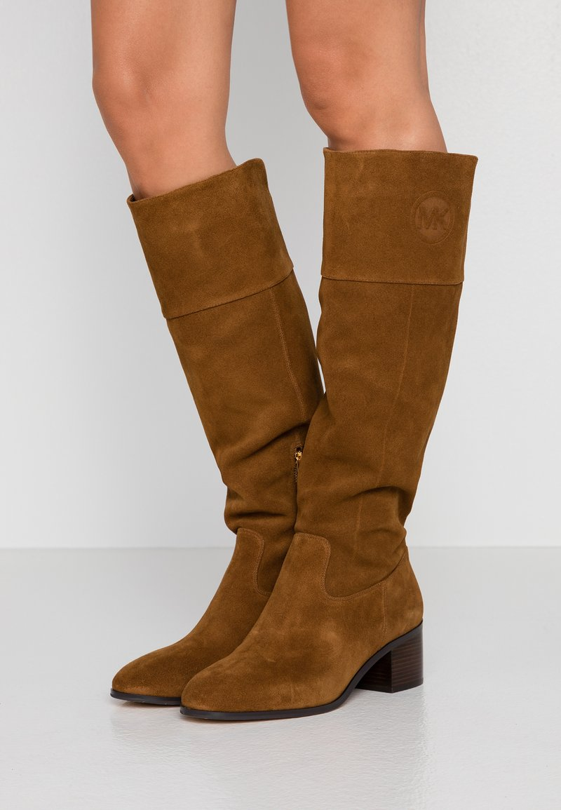 MICHAEL Michael Kors - DYLYN BOOT - Boots - amber