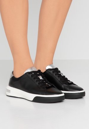CODIE LACE UP - Sneakers laag - black/silver