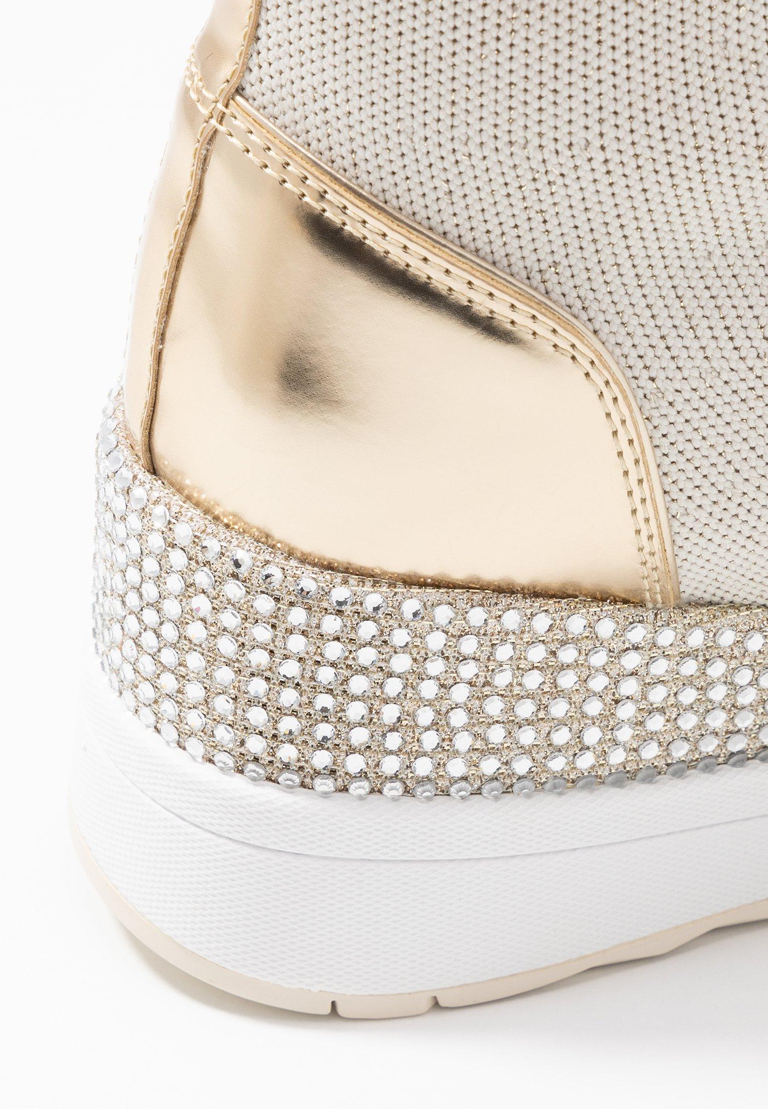MICHAEL Michael Kors Sneakersy wysokie - ecru/gold