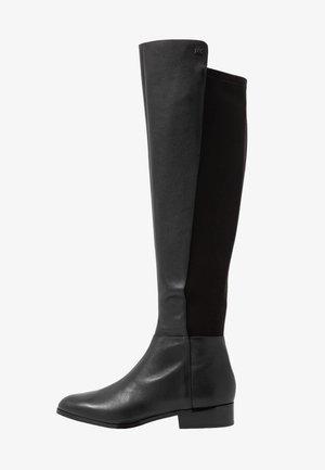 BROMLEY FLAT BOOTIES - Høye støvler - black