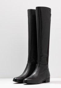 MICHAEL Michael Kors - BROMLEY FLAT BOOTIES - Over-the-knee boots - black - 4