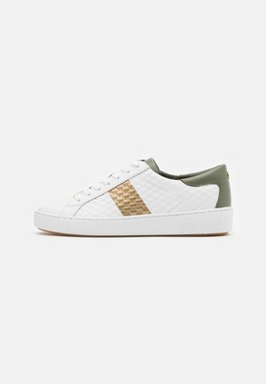 COLBY - Matalavartiset tennarit - army green/metallic