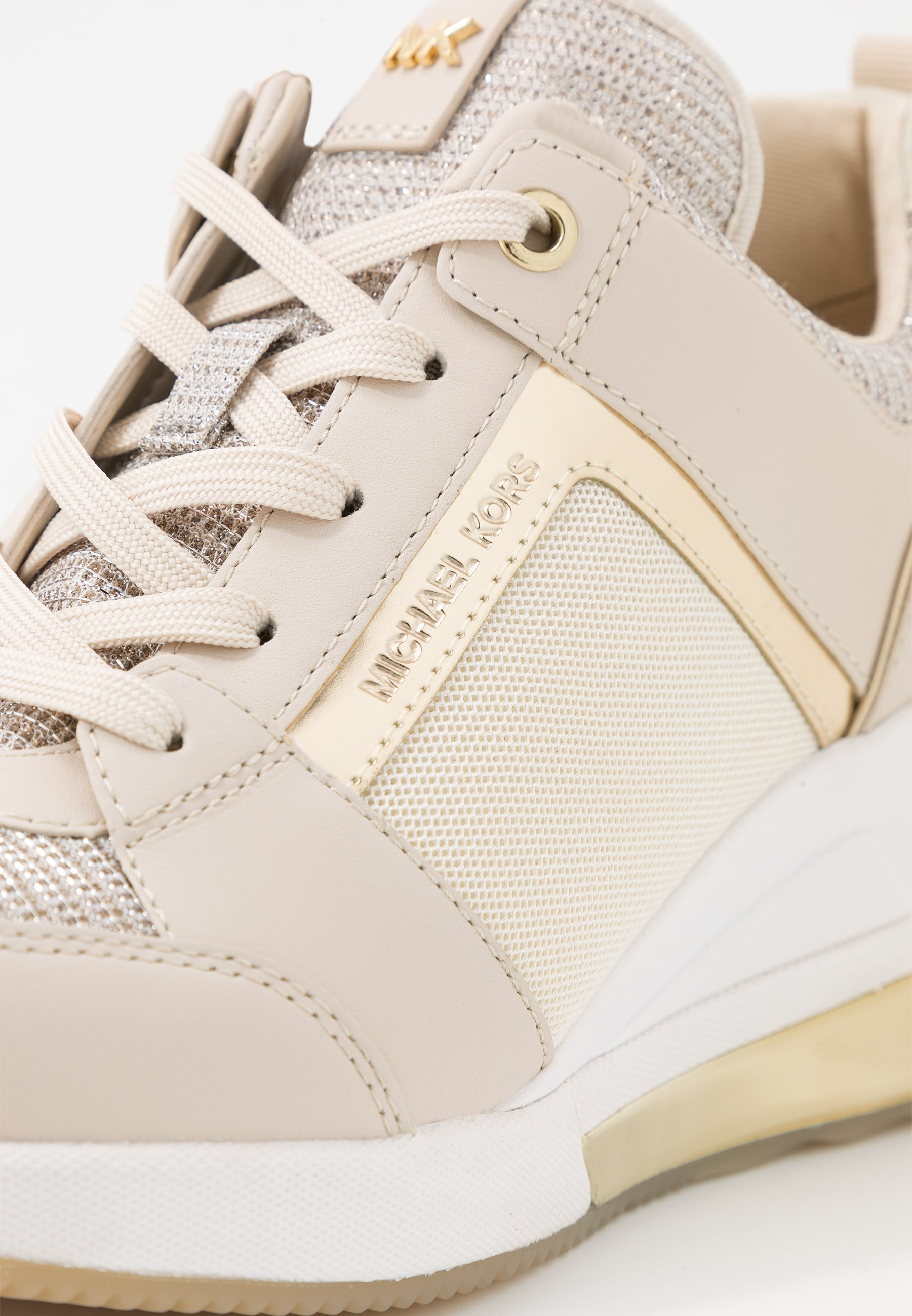 MICHAEL Michael Kors GEORGIE TRAINER EXTREME - Sneakersy niskie - champagne