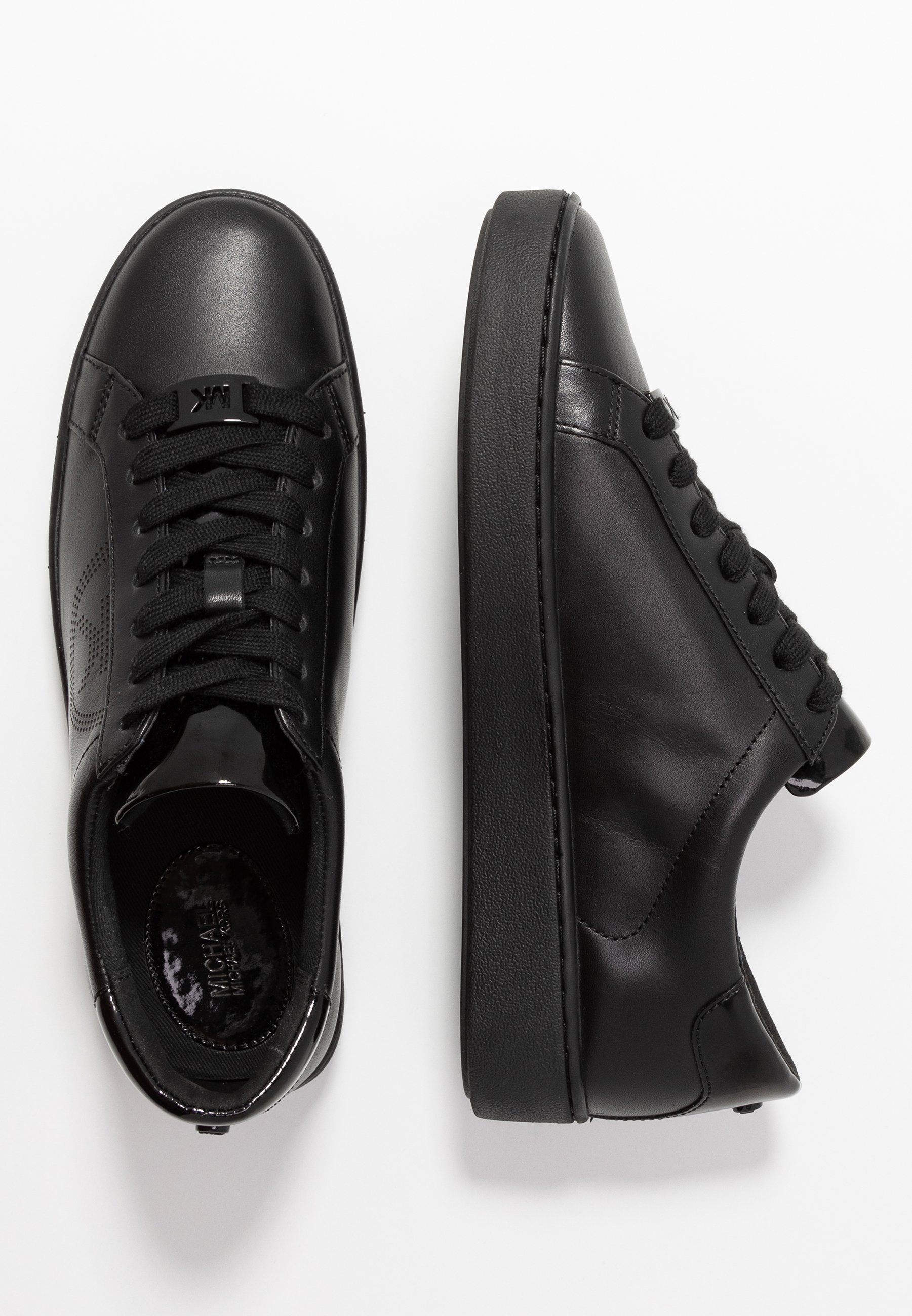 MICHAEL Michael Kors KEATON LACE UP - Sneakersy niskie - black