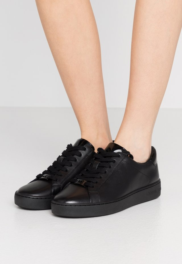 KEATON LACE UP - Matalavartiset tennarit - black