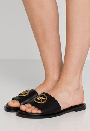 BRYNN SLIDE - Pantofle - black