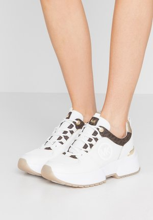 COSMO TRAINER - Baskets basses - bright white