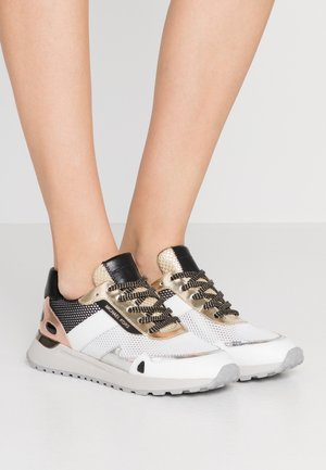 MONROE TRAINER - Baskets basses - silver/multicolor