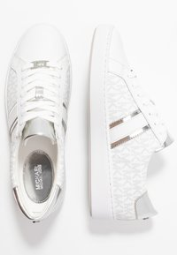 MICHAEL Michael Kors - IRVING STRIPE LACE UP - Zapatillas - bright white - 3