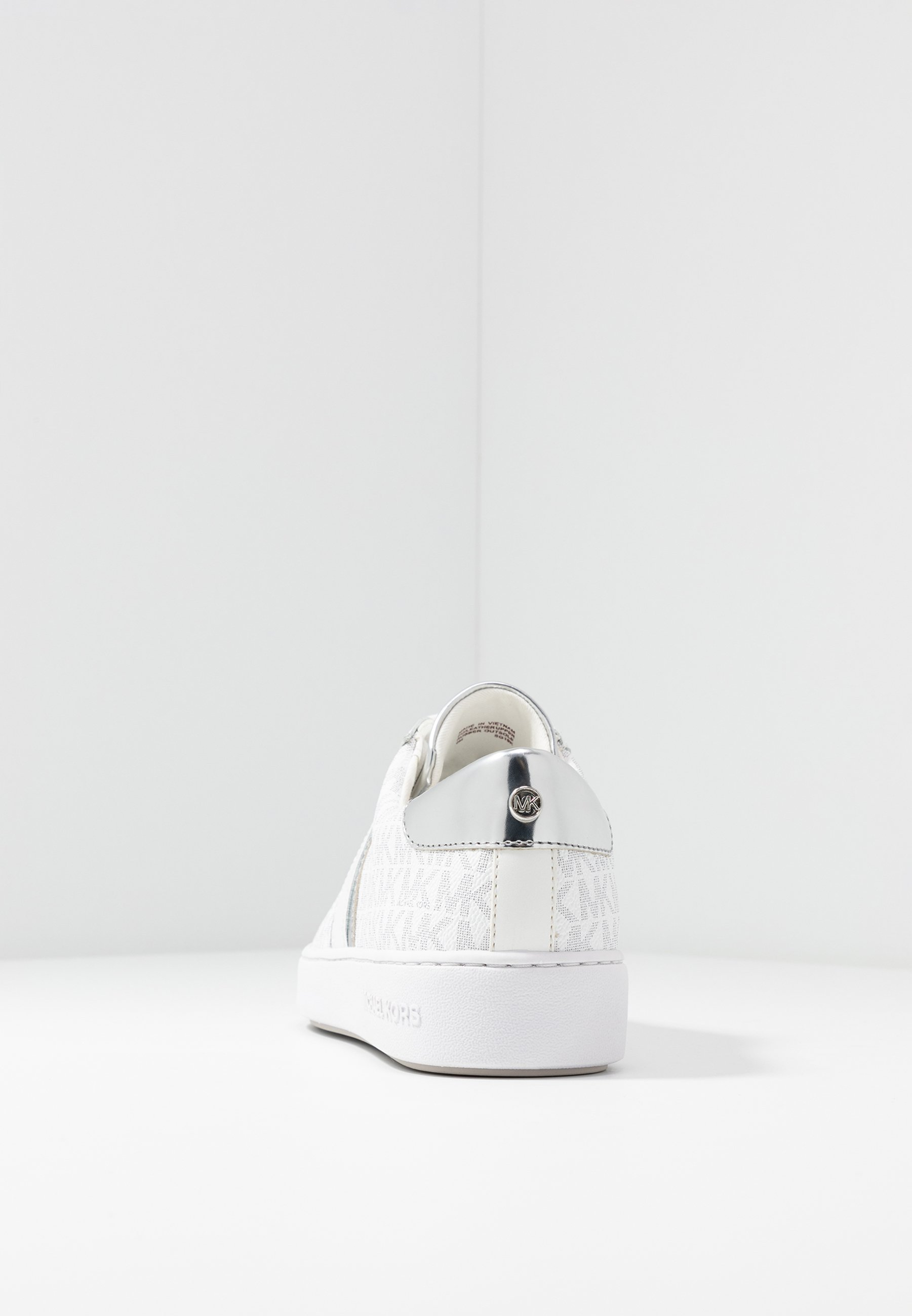 MICHAEL Michael Kors IRVING STRIPE LACE UP - Sneakersy niskie - bright white