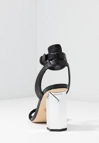 MICHAEL Michael Kors - PETRA ANKLE STRAP - High Heel Sandalette - black - 5