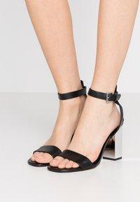 MICHAEL Michael Kors - PETRA ANKLE STRAP - High Heel Sandalette - black - 0