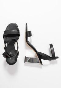 MICHAEL Michael Kors - PETRA ANKLE STRAP - High Heel Sandalette - black - 3