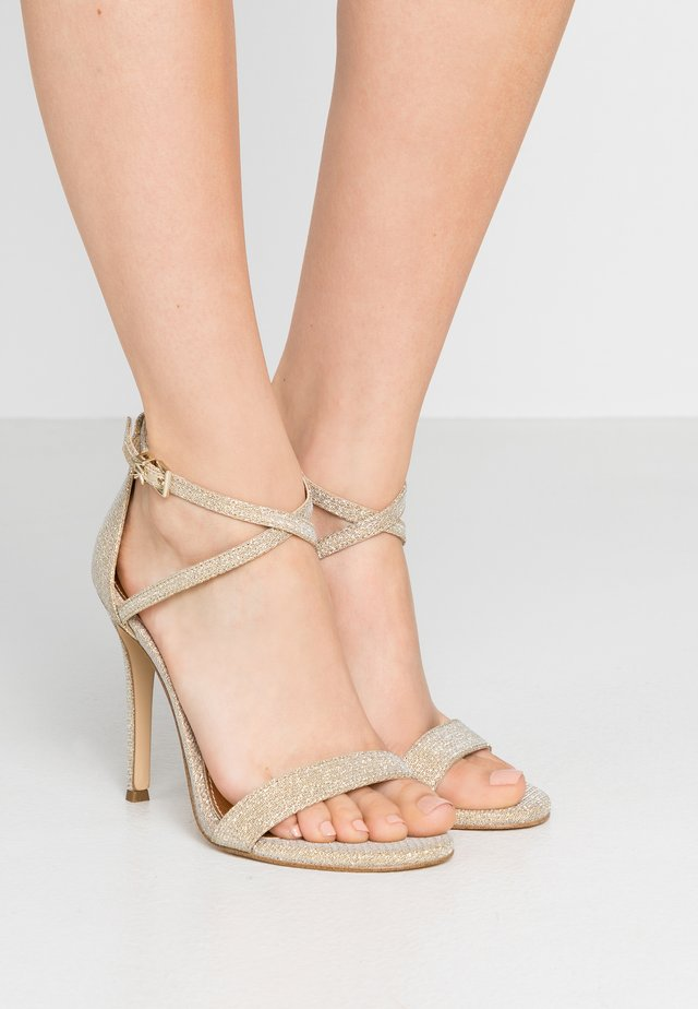 ANTONIA  - High heeled sandals - pale gold