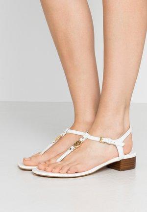 CAYLA MID - T-bar sandals - optic white