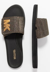 MICHAEL Michael Kors - SLIDE - Pantofle - black - 3